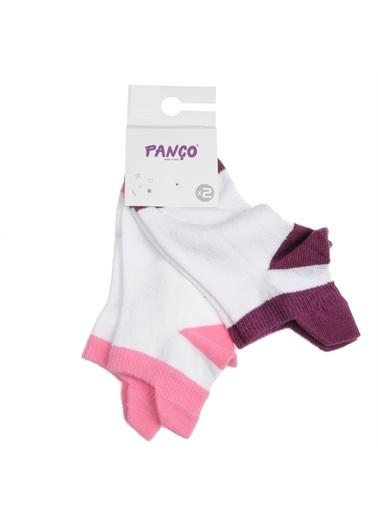 Panço Kız Çocuk 2 li Çorap 1813600156 Renksiz